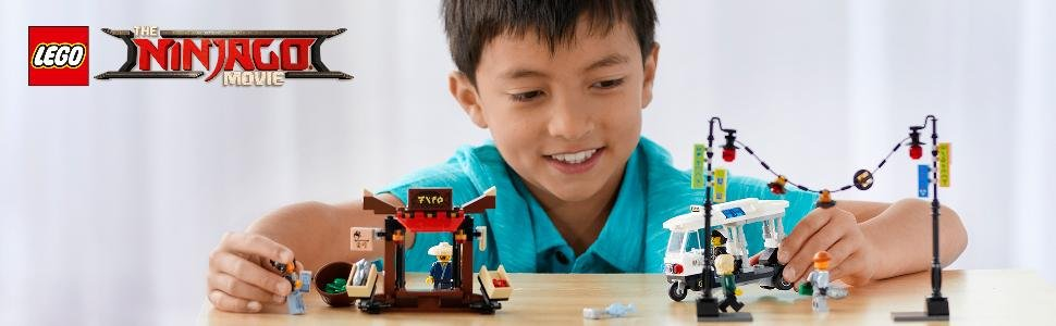 レゴ(LEGO)ニンジャゴーニンジャゴーシティの街角