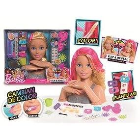 Barbie - flip and reveal busto deluxe + 20 piezas