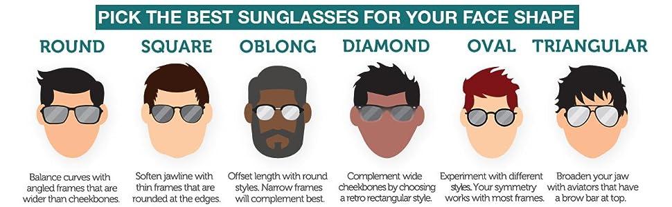 a8422c1f264 Silver Kartz UV400 Protection Classic Aviator Unisex Sunglasses ...