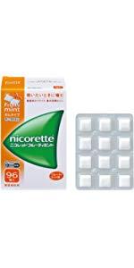 【指定第2類医薬品】ニコレットフルーティミント 96個 ※セルフメディケーション税制対象商品
