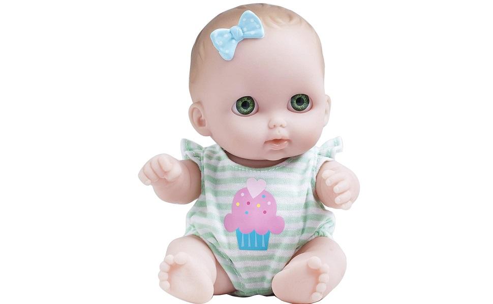 Carry Culla Rosa etc Cutie Pie Baby doll con accessori-bottiglia