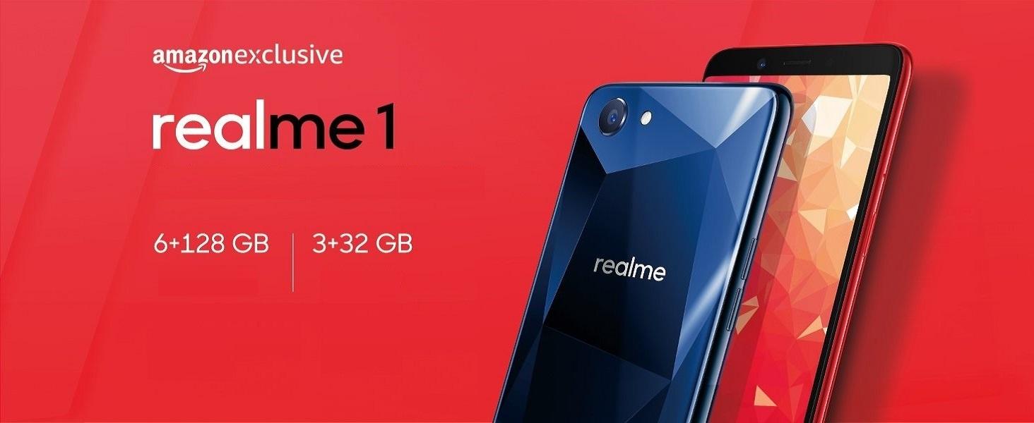Realme 1 Solar Red 4gb Ram 64gb Storage Amazon In Electronics