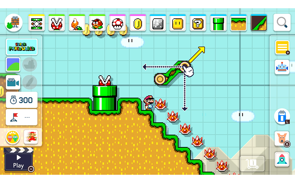 Super Mario Maker 2 Nintendo Switch by Nintendo