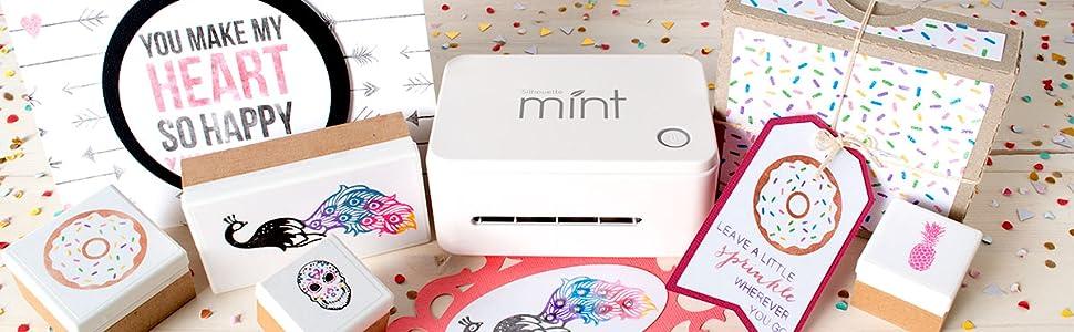 Silhouette Mint sistema de estampación: Amazon.es: Hogar