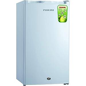 Nikai Single Door Refrigerator - Silver NRF125SS1