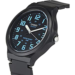 Casio resin band watch, Casio Men's watch