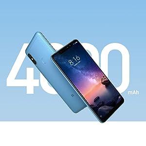 Xiaomi Redmi Note 6 Pro Dual SIM 32GB 3GB RAM Blue: Xiaomi: Amazon ...