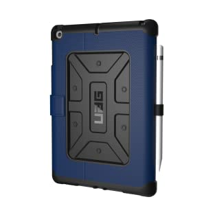 UAG Folio iPad 9.7 (2017 5th Gen & 2018 6th Gen) Metropolis Feather-Light Rugged [Cobalt] Military Drop Tested iPad Case