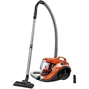 Tefal TW3724HA Cyclone Vacuum Cleaner with 2.6 Feet Cable and 1.5-L Container for Easy