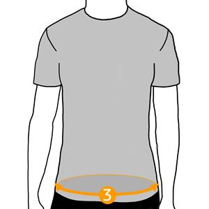 Hip circumference: