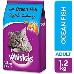 ويسكاس طعام القطط بطعم سمك المحيط 1 2 كغ Amazon Ae