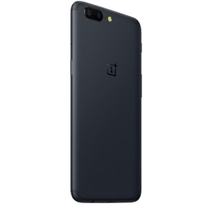 OnePlus 5 Dual SIM - 128GB, 8GB RAM, 4G LTE, Midnight Black