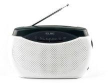 Elbe RR-48 Radio portátil, radio con sintonizador analógico am/fm ...