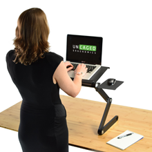 Simple Portable Laptop Standing Desk Riser