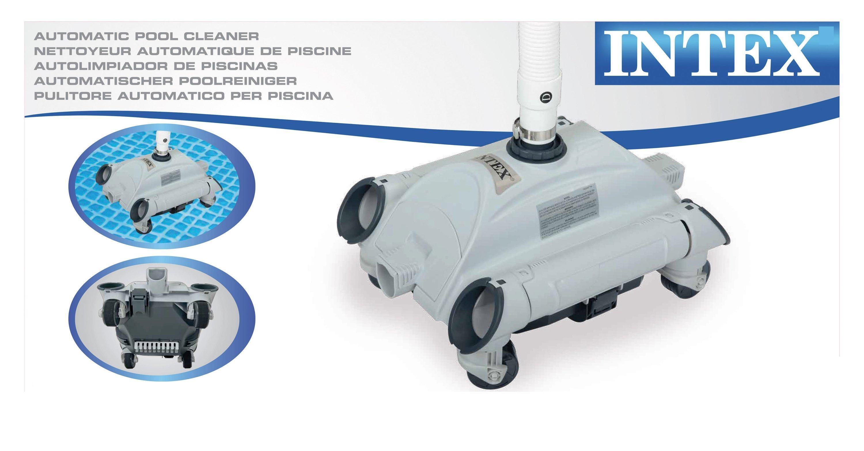 e63e426f Intex 28001 Auto Cleaner per Pompe Filtro Accessori per Piscine ...