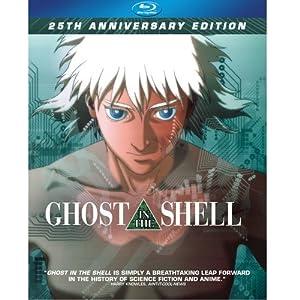 Amazon Com Ghost In The Shell 25th Anniversary Edition Blu Ray Anime Characters Mamoru Oshii Movies Tv