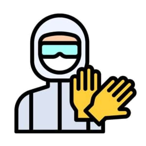 Required Personal Protective Equipment Symbolsafety Icon Isolate On White  Backgroundvector Illustration Eps10 Stock Illustration - Download Image Now  - iStock