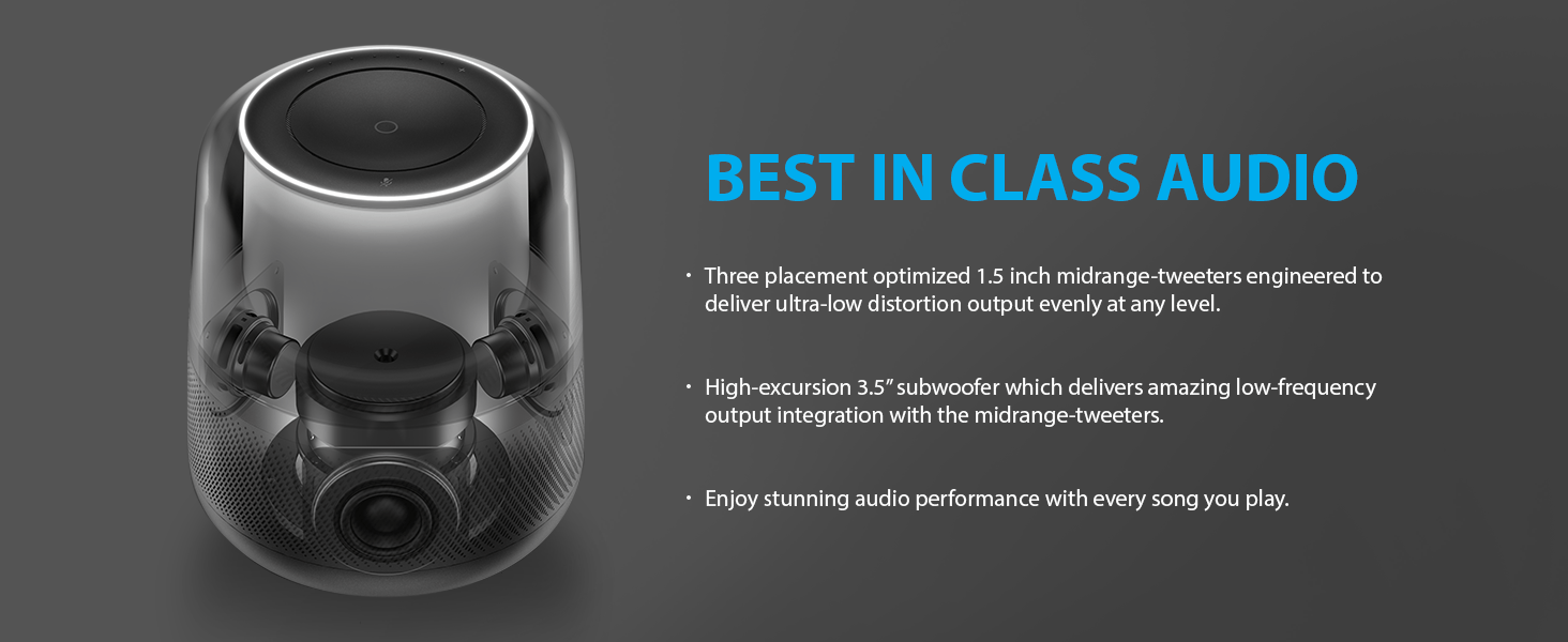Best in class audio