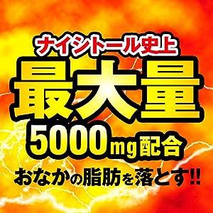 ナイシトール史上最高の満量5000mgの有効成分