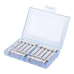 サンワサプライ 電池ケース(単3形、単4形対応)