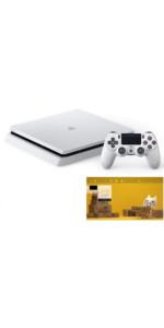 PlayStation 4 グレイシャー・ホワイト 500GB 【特典】オリジナルカスタムテーマ 配信