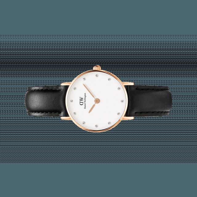 05a7d05b4bdd7e Con un quadrante di soli 26 mm di diametro, questa è la collezione di  orologi Daniel Wellington più minimalista. Il sottile quadrante, cinturino  ...