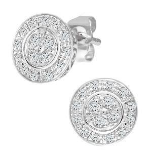 Resplandece con las colecciones de pendientes de diamantes de NAAVA