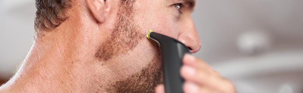 Philips OneBlade Pro QP6510/60 - Pack de Recortador de Barba con Peine de Precisión de 12 Longitudes y Cuchilla Adicional, Recorta, Perfila y Afeita, Recargable: Amazon.es: Salud y cuidado personal