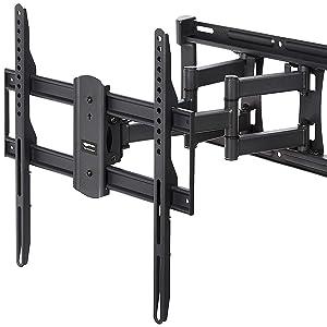 AmazonBasics - Soporte articulado de montaje en pared para televisores de 22