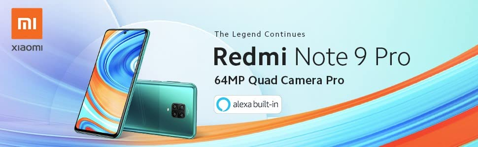 Redmi Note 9 Pro con Alexa Hands-Free