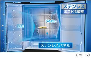 ミスト冷蔵室