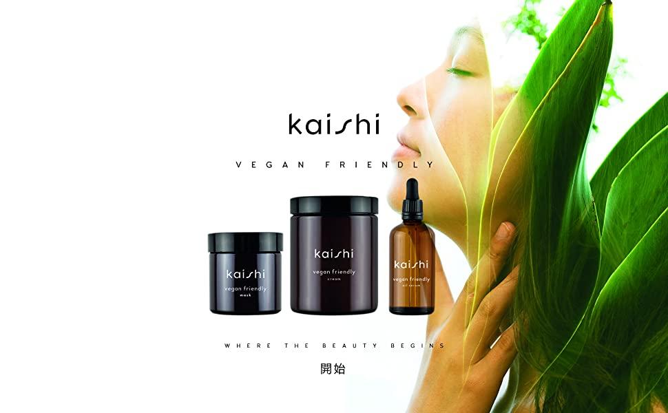 Kaishi - Mascarilla Vegan Friendly para hidratar en profundidad y disfrutar de un spa en casa, 60 ml