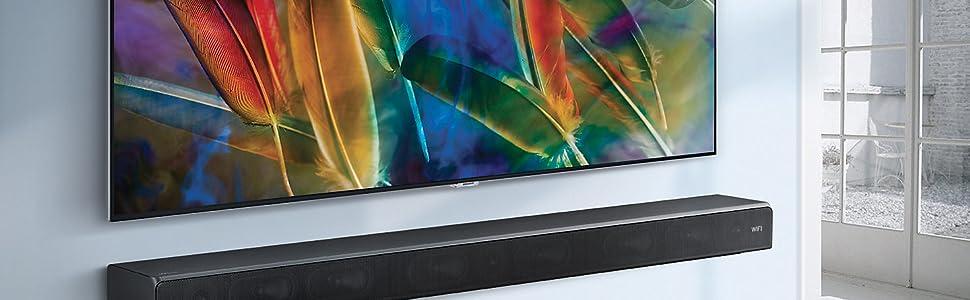 Samsung Sound+ HW-MS6500 - Barra de Sonido inalámbrica Curva ...