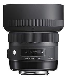 Sigma 30mm F1 4 Dc Hsm Art Objektiv Für Canon Kamera