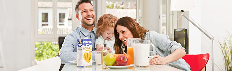 Puleva Leche con Omega 3 y Nueces - Pack de 6: Amazon.es: Alimentación y bebidas