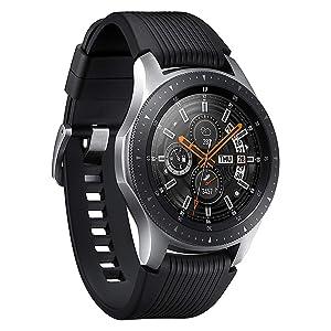 Samsung Galaxy - Reloj inteligente, Bluetooth, Negro, 42 mm [Versión alemana: Podría presentar problemas de compatibilidad]