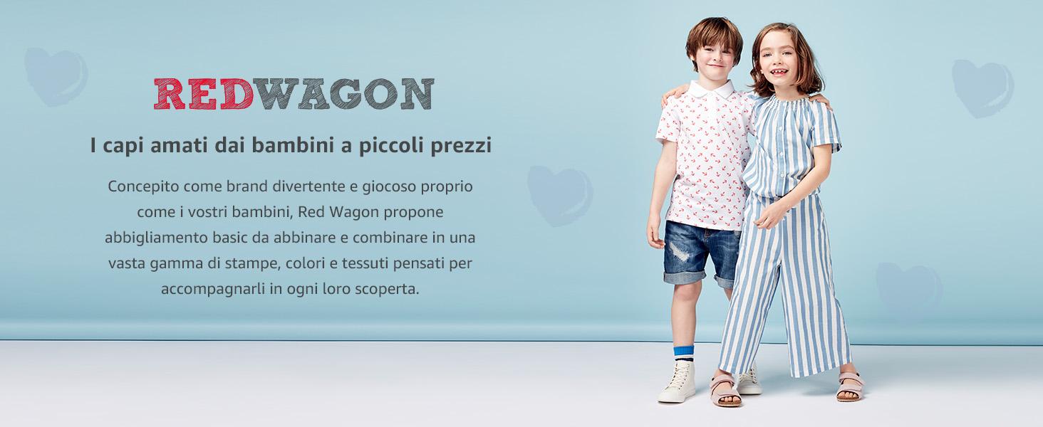 Marchio RED WAGON Pantaloni Sportivi con Balza Bambina Pacco da 2