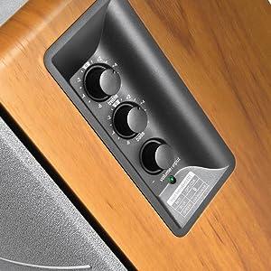Edifier- R1280DB altavoces con conexión RCA / AUX, bluetooth, óptica y coaxial, potencia de salida total: R / L: 21W + 21W RMS, subwofer/bajo unidad ...
