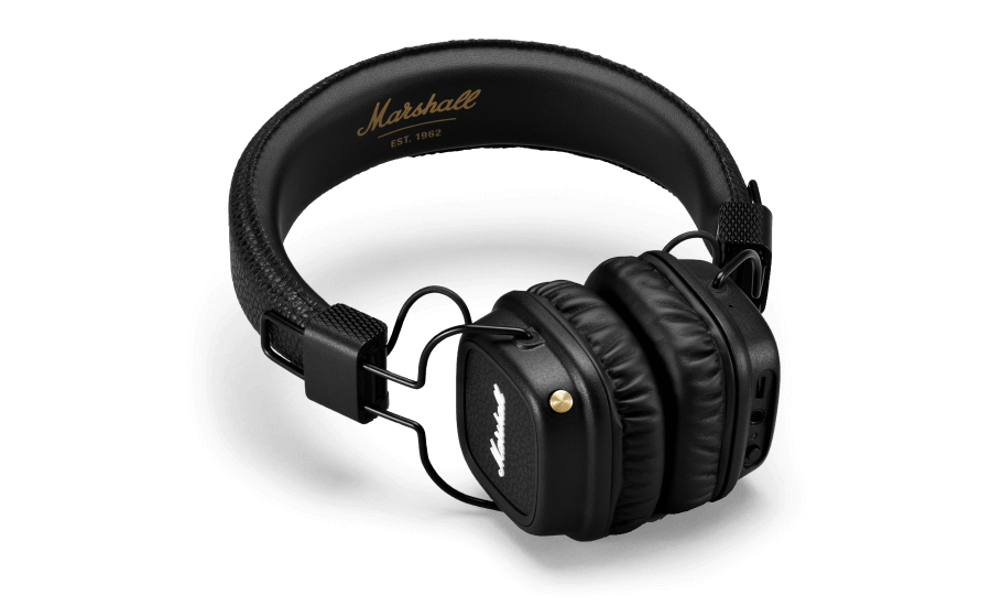 marshall major ii bluetooth headphones white electronics. Black Bedroom Furniture Sets. Home Design Ideas