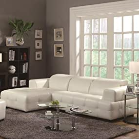 Coaster Home Furnishings Contemporary Sectional Sofa
