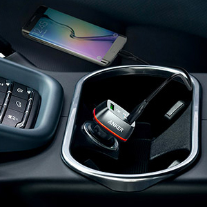 Anker Quick Charge 2.0 USB Car Charger PowerDrive 2