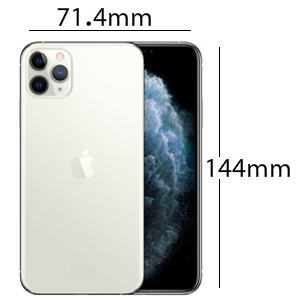 Apple MWC32AE/A iPhone 11 Pro without FaceTime - 64GB, 4G LTE, Silver