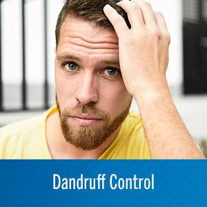 Dandruff control shampoo made with select ingredients