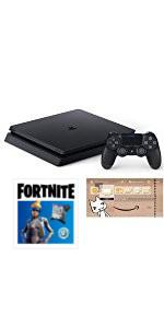 PlayStation 4 ジェット・ブラック 500GB Fortniteバンドル (CUH-2200AB01)(Amazon限定特典付)