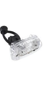 キャットアイ(CAT EYE) 自動点灯テールライト クリア TL-AU330