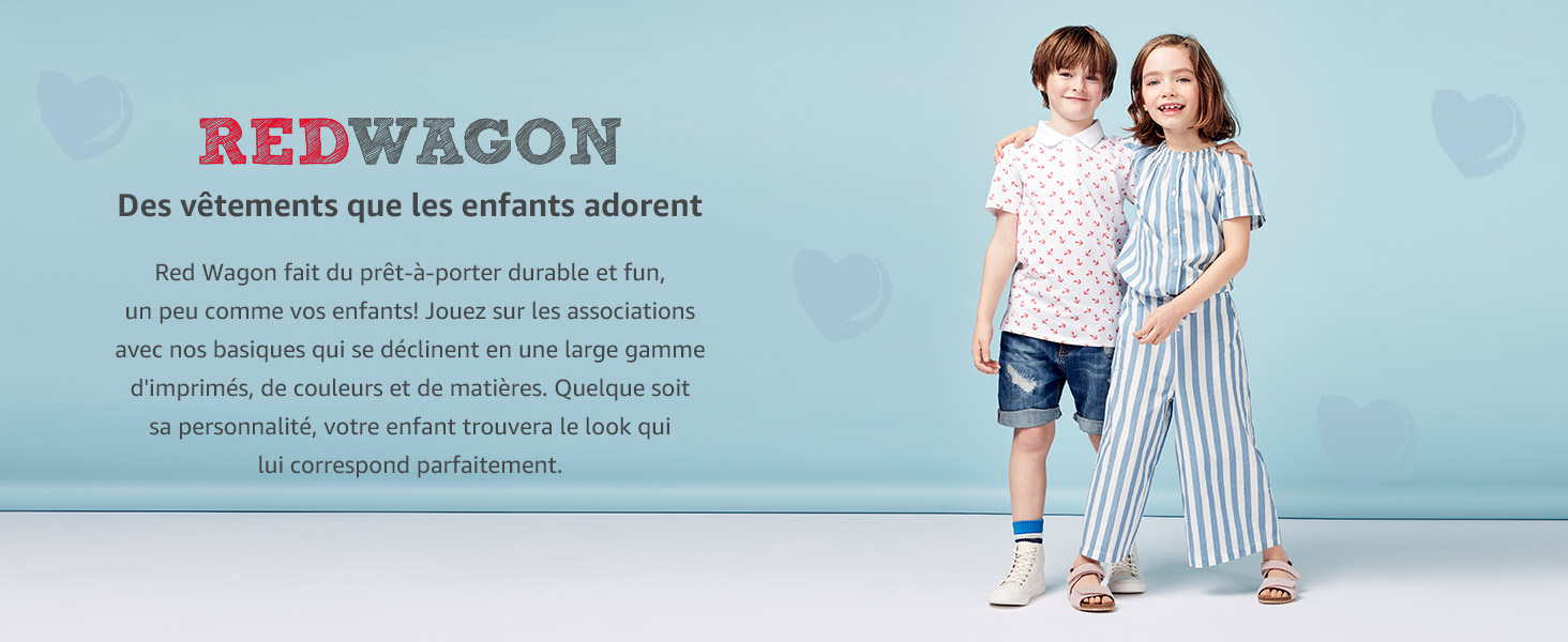 RED WAGON Blouse Brod/ée /Épaules Nues Fille