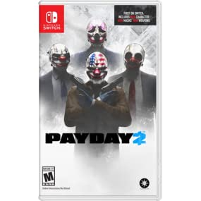 Amazon com: Payday 2 - Nintendo Switch: 505 Games: Video Games