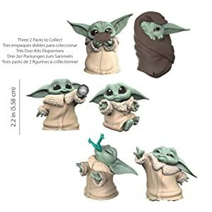 B082JQPTKJ - Star Wars The Child - Pack de 2 (Hasbro F12555S0)