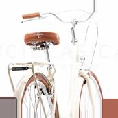 Capri Bicicleta Urbana Valentina Aquamarina 6 Velocidades: Amazon.es: Deportes y aire libre