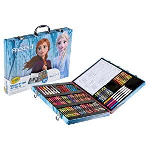 Frozen movie, Frozen 2, Frozen 2 toys, art case, art set, art kit, frozen characters, elsa toys